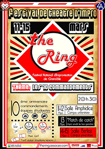 Affiche festival The Ring 2014