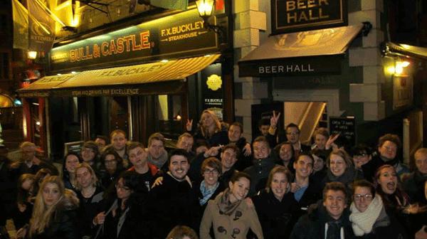 Les étudiants de l'ESPEME à Dublin
