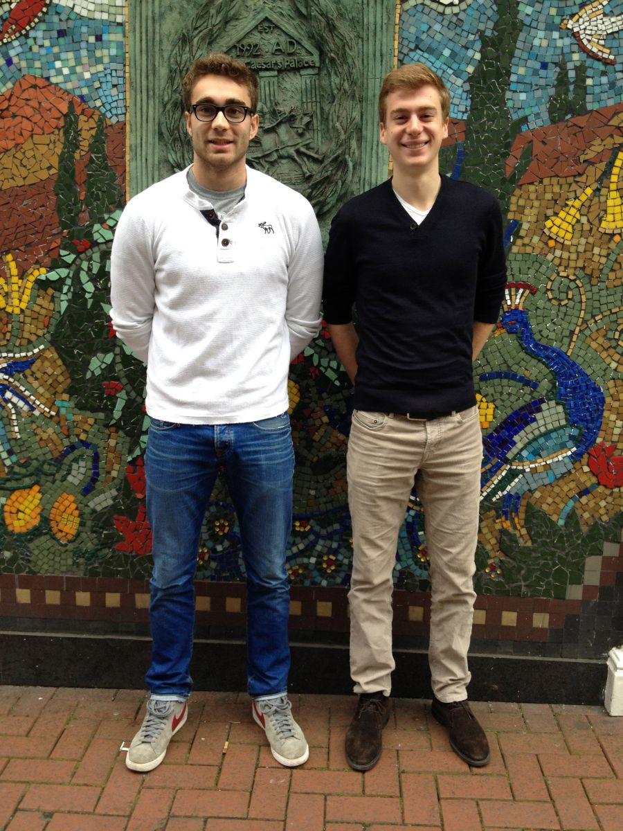 Olivier Jerusel et Benjamin Drapie de l'ESPEME.