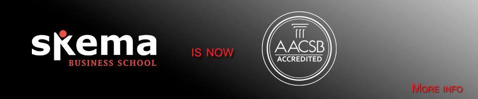 Skema BS accréditée AACSB