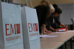 Les admissibles à l'EM Normandie