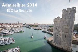 Première étape : l'ESC la Rochelle !