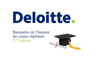 Baromètre 2013 de l'humeur des jeunes diplômés par Deloitte !