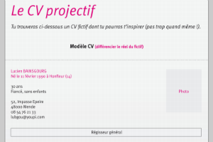 Le CV projectif de SKEMA business School, une vraie introspection !