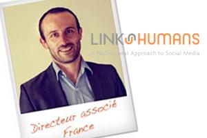 Laurent, BEM 1998, directeur associé de la société Link Humans