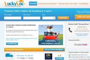 Luckyloc, louez votre voiture pour 1€ seulement !