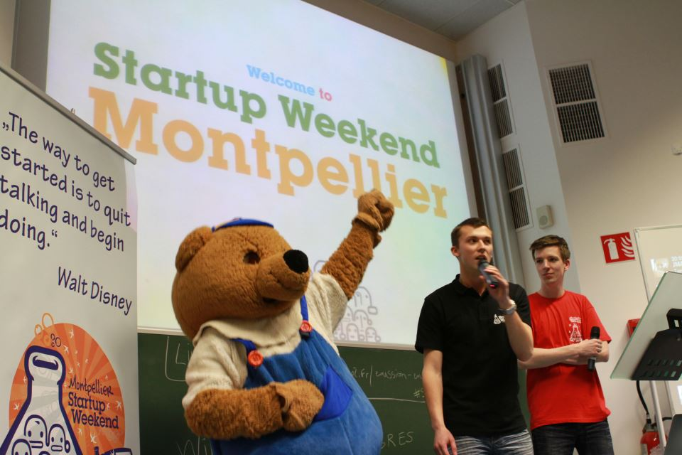 Bref, on a fait le Startup week-end Montpellier !