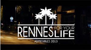 Vidéo admissibles ESC Rennes 2013