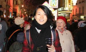 Portrait de Yi, étudiante chinoise à l'INSEEC Bordeaux